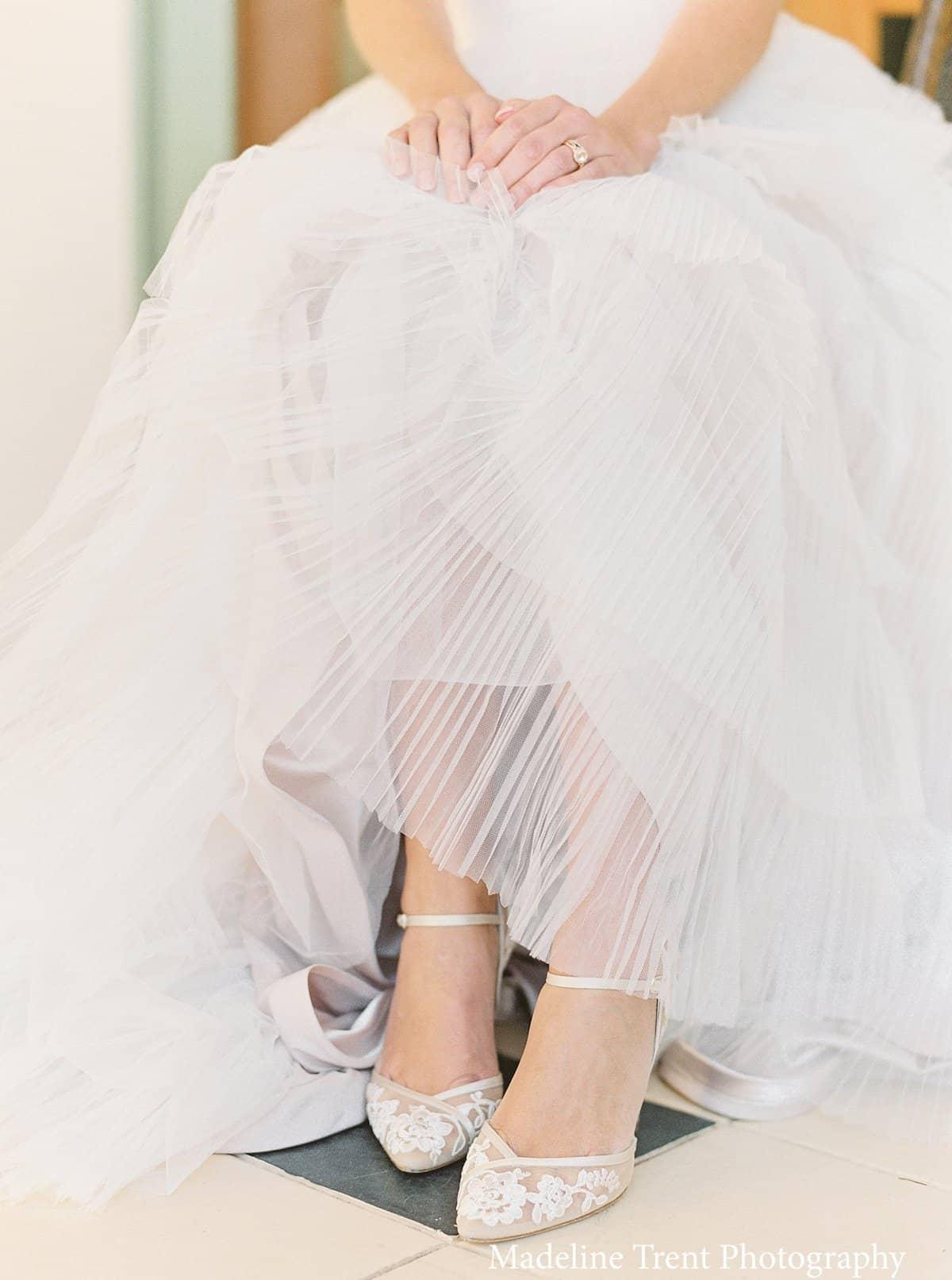 candice bella belle shoes talon 6,5cm ivoire dentelle nude fleur broderie geneve boutique centre-ville mariage